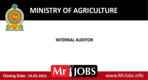 Ministry of Agriculture Vacancies 2021