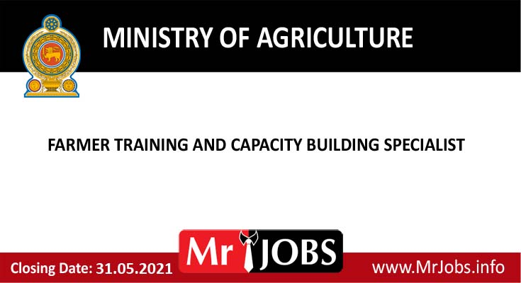 Farmer Training and Capacity Building Specialist