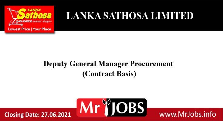 Lanka Sathosa Limited Vacancy